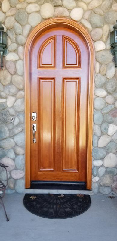 Door Refinishing After