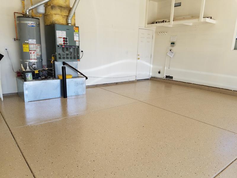Epoxy Garage Floor - After
