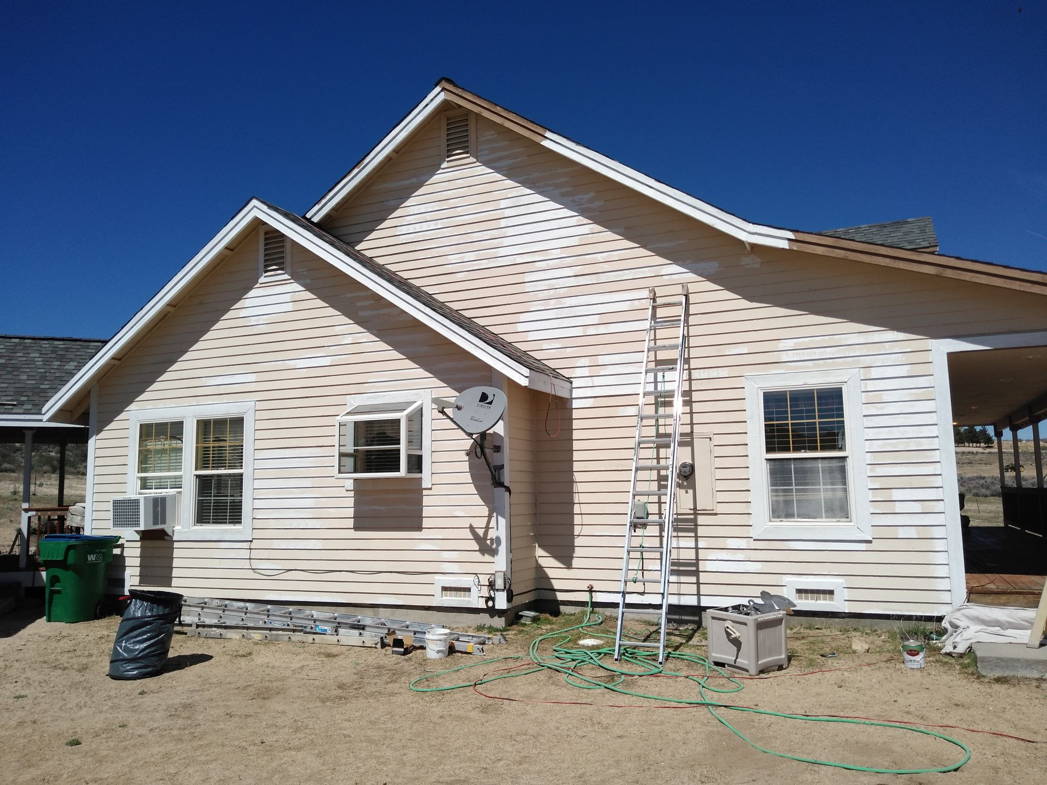 Exterior Residential Painting - Before