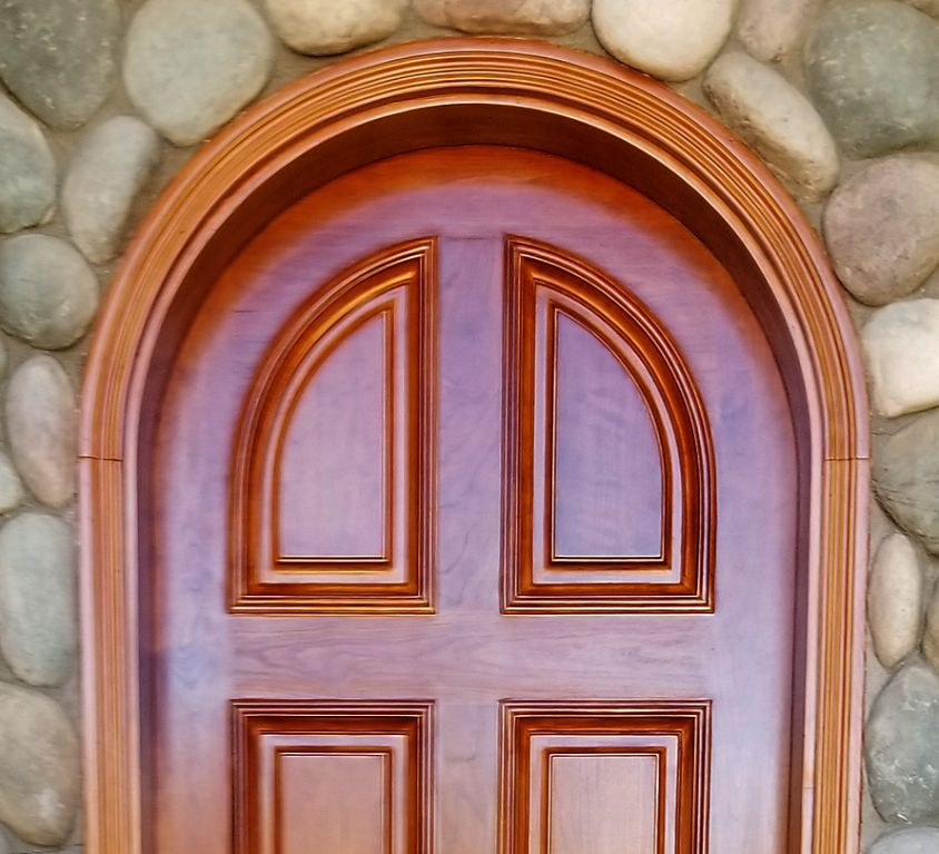 Refinished Residential Door